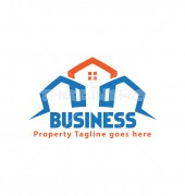 Property Factor Affordable Housing Logo Design
