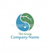 Branch Recycle Artifacts Premade Logo Symbol