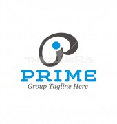 PI Letter Prime Elegant Logo Template