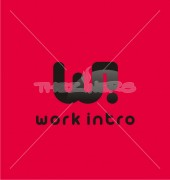 WI Work Intro Creative Premade Logo Design