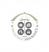 Broadway Insurance & Educational Logo Template