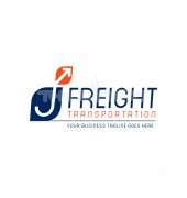 J Letter Transportation Vector Logo Template