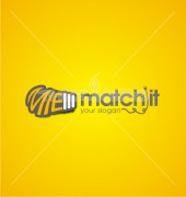 MIE Match It Manufacturing Premade Logo Design
