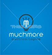 M Letter Muchmore Stylish Logo Template