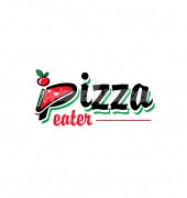 P Tomato Pizza Food & Bar Logo Template