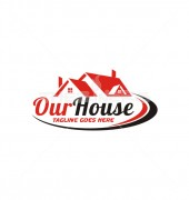 Our House Premade Real Estate Logo Vector