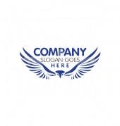 Fly Eagle Wild Security Bird Logo Template