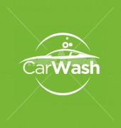 Car Wash Vector Logo Template