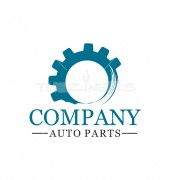 Gear Auto-Part Logo Template