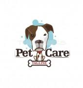 Pet Care Inventive Dog Premade Logo Design