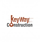 Key Way Real Estate Construction Logo Template