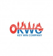 KCW Key City Premade Housing Logo Vector