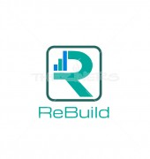 R Letter Rebuild Elegant Real Estate Builder Services