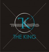 TK Circle The King Vector Logo Template