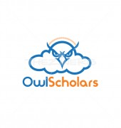 Owl Scholars Education Cloud Logo Design