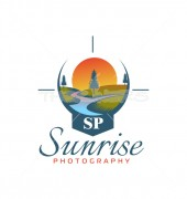 Sunrise Premade Photography Logo Template