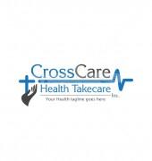 Cross Health Take Care Elegant Medical Logo Template