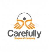 Carefully Non Profit Logo Template