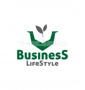 Vital Life Style Creative Help Non Profit Logo Template