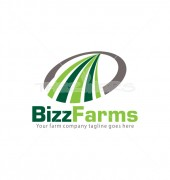Farms Field Premade Product Logo Design