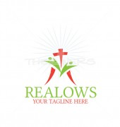 Real Church Manufacturing Premade Logo Design