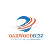 O Letter Oakwood Accounts & Consulting Company Logo