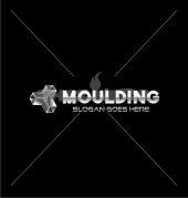 Crystal Moulding Unique Product Logo Template