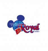 Royal Disney Tour Products Logo Template