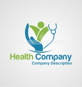 Childrens Doctor Medical Solution Logo Template