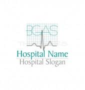 ECG Electrocardiogram Premade Health Care Logo Design