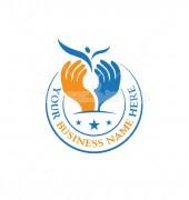 People Trust Child Education Logo Template