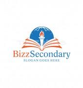 Study Torch Kids Education Premade Logo Design