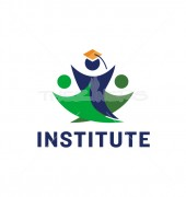 Study Institute Elegant Graduate Education Logo Template