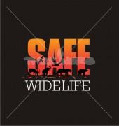 Safe Wildlife Animal Logo Template