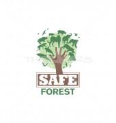 Save Forest Animal & Bird Premade Logo Design