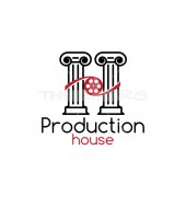 Production House Creative Entertainment Logo Template