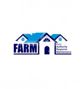 City & Farm Housing Premade Real Estate Logo Template