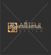 Artful Square Creative Flower Logo Template