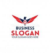 Eagle Star Shield Creative Security Logo Vector