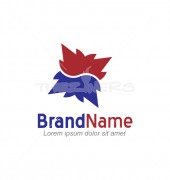 Abstract Doormat Logo Template