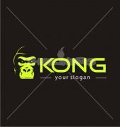 Gorilla Face Logo Template