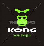 Gorilla Premade Logo Template