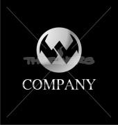 Alphabet Letter W Creative Premade Logo Design