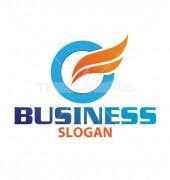 O Company Letter Elite Logo Template