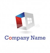Investment Property Real Estate Premade Housing Services Logo design