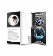 Global Tech Solution Trifold Template